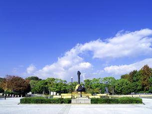 服部緑地東中央広場を南より望むの写真素材 [FYI00473758]
