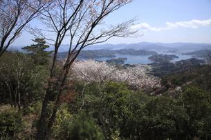 彦岳より佐伯湾を望むの写真素材 [FYI00473834]