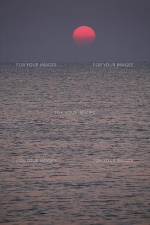 海 日の出の写真素材 [FYI00473841]