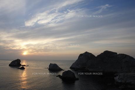朝の海の写真素材 [FYI00473861]