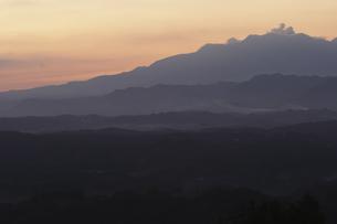 御嶽山より九重連山を望むの写真素材 [FYI00473873]