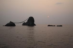 朝の海の写真素材 [FYI00473913]