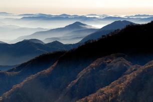 大山周辺の山々の写真素材 [FYI00473969]