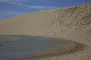 鳥取砂丘のすりばちの写真素材 [FYI00474187]