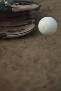 グローブとボールの写真素材 [FYI00474344]