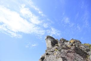 赤岳山頂の写真素材 [FYI00474394]