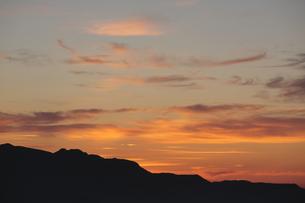 朝焼け雲の写真素材 [FYI00474402]