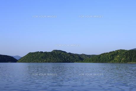 三方五湖の写真素材 [FYI00474667]
