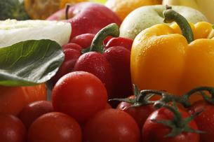フルーツと野菜の素材 [FYI00474686]
