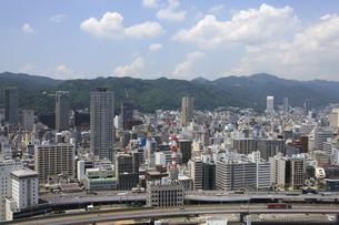 ポートタワーから見える神戸の街並の写真素材 [FYI00474710]