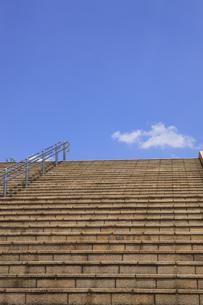 西山公園の階段の写真素材 [FYI00475057]