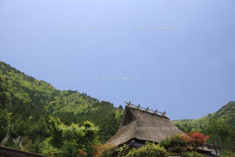 美山かやぶきの里の写真素材 [FYI00475082]