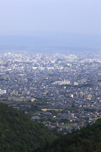 京都市の町並みの写真素材 [FYI00475102]