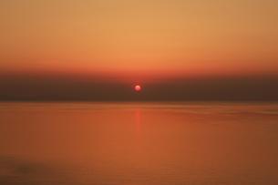 若狭湾の夕焼けの写真素材 [FYI00475105]