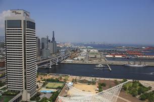 ポートタワーから見える神戸の街並の写真素材 [FYI00475135]