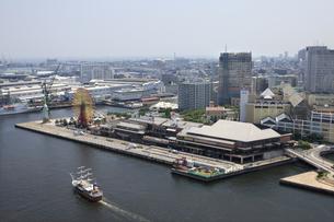 ポートタワーから見える神戸の街並の写真素材 [FYI00475137]