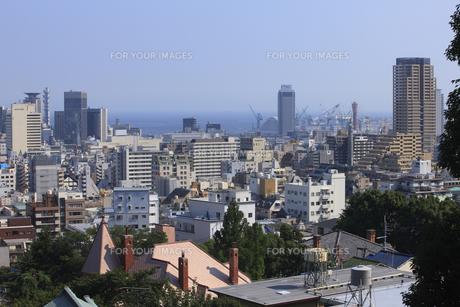 神戸の街並の写真素材 [FYI00475140]
