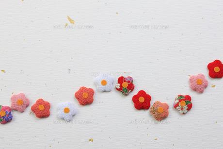 梅の花の飾り物の写真素材 [FYI00475238]