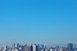 東京都心のビル群の写真素材 [FYI00475407]