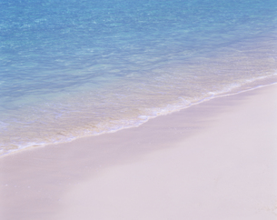波打ち際と海面の写真素材 [FYI00475624]