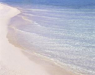 波打ち際と海面の写真素材 [FYI00475637]