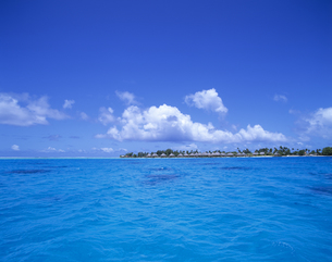 海と島の写真素材 [FYI00475694]