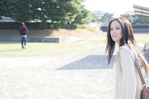 日本人女子大生の写真素材 [FYI00476523]