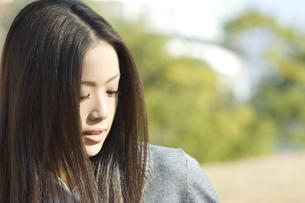 若い女性の写真素材 [FYI00476528]