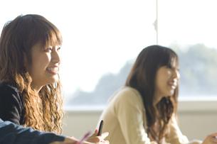日本人女子大生の写真素材 [FYI00476536]