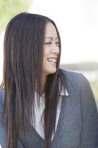 日本人女子大生の写真素材 [FYI00476541]