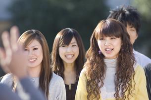 学生グループの写真素材 [FYI00476616]