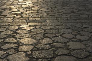 石畳の素材 [FYI00476944]