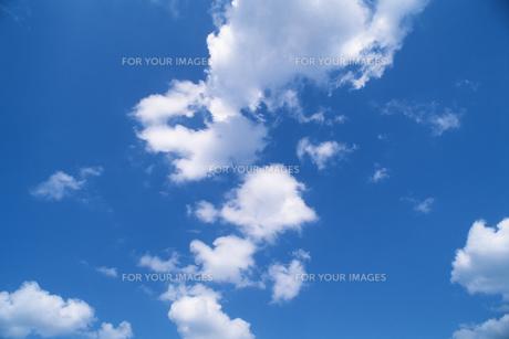 青空と雲の素材 [FYI00476952]