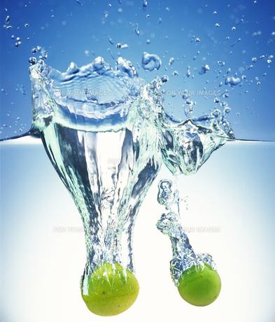 水中の果物の素材 [FYI00477044]