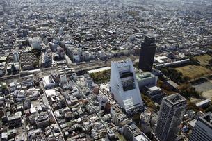 中野区周辺の空撮の写真素材 [FYI00477227]