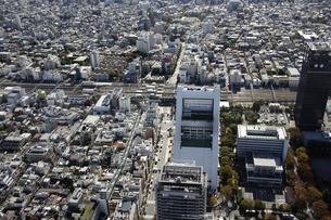 中野区周辺の空撮の写真素材 [FYI00477234]