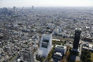 中野区周辺の空撮の写真素材 [FYI00477246]