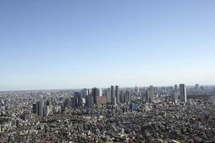 新宿副都心ビル群の空撮の写真素材 [FYI00477250]