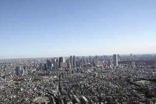 新宿副都心ビル群の空撮の写真素材 [FYI00477253]