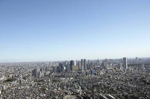 新宿副都心ビル群の空撮の写真素材 [FYI00477254]