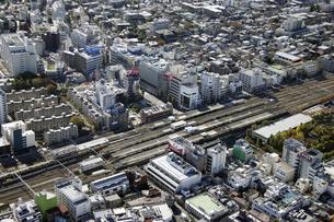 中野区周辺の空撮の写真素材 [FYI00477257]