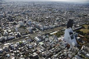 中野区周辺の空撮の写真素材 [FYI00477261]
