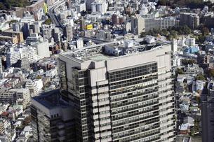 恵比寿周辺の空撮の写真素材 [FYI00477327]