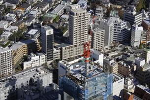 五反田周辺の空撮の写真素材 [FYI00477336]