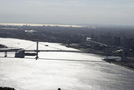 港区海岸周辺の空撮の写真素材 [FYI00477416]