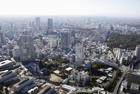 永田町周辺の空撮の写真素材 [FYI00477442]