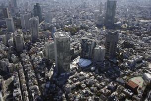 赤坂周辺の空撮の写真素材 [FYI00477460]