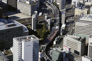 千代田区周辺の空撮の写真素材 [FYI00477468]