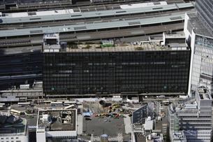 東京駅周辺の空撮の写真素材 [FYI00477472]