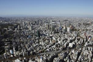 神田周辺の空撮の写真素材 [FYI00477477]